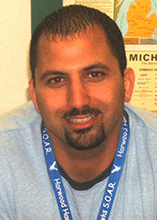 Teacher Feature: Tarek Rayshouny, Grissom Middle School
